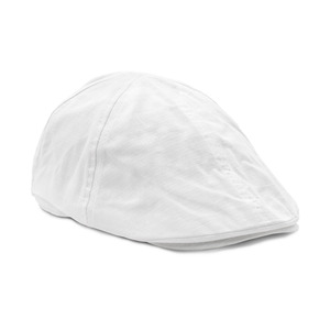 SALE! Cap in classic golf style, also called old man cap. Pre-curved peak and closed back. This cap is bought in whole cartons of 50 pcs.