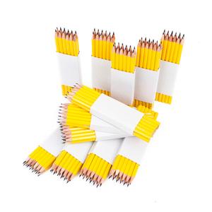 Klassisk 6-kantig gul skolpenna. Blyerts HB. OBS! Säljes endast grossvis (144st)