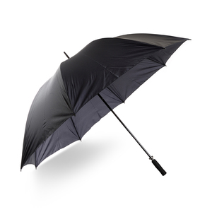 Umbrella sale! An extra large umbrella - 150 cm in diameter! Wind-resiliant with graphite shaft and EVA-foam handle. Manual folding. Take the opportunity to buy at outlet prices!