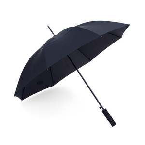 Ett prisvärt paraply i större modell. Ett stormsäkert paraply med 8 paneler.Automatisk uppfällning och EVA-foam handtagför skönt grepp.118 cm uppfällt. 93 cm ihopfällt.