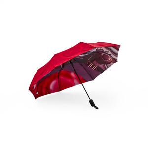 Skapa unika paraplyer med digital teknik från 120 st. Priset inkluderar valfritt fotomotiv på vår populära kompaktparaply Key, med enkelt panellager. Bilden visar exempel på tryck på dubbla paneler.  Lev.tid ca 12-14 veckor efter godkänt prov. Minsta orderantal 120st. Önskar du offert eller paneler tillverkade i återvunnen polyester, eller vill du ha hjälp med skissförslag - hör av dig!