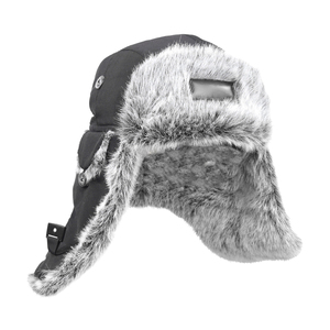 Classic fur hat with fold-downear flaps. Now on sale!