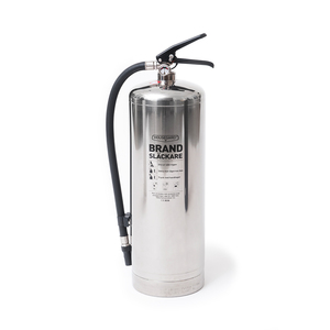 With a stylish design and fine finish, the aluminum powder fire extinguisher with ABC powder is a stylish and functional product in the home, office, workplace, or holiday home. An all-round fire extinguisher that handles most types of fires, efficiency class 55A 233B C. Certification: CE