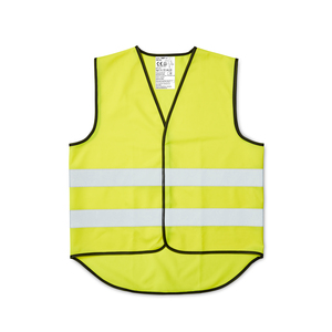 CE-approved fluorescent vest in unisex model with velcro fastening at the front. The reflectors around the vest are 55mm wide. Designed with an extended rear section that provides visibility and extra surface for printing. The warning vest is approved according to EN ISO 20471, class 2. It is approved to be worn in most workplaces that require extra visibility, day and night. Delivered in a case. When printing on the vest - According to CE standard, the background material may be covered with a total of 447 cm2, of which a maximum of 315 cm2 on the front.