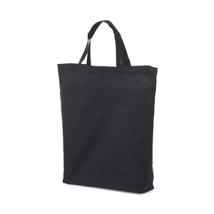 Cotton bag with small gussets. A popular model of both bag and cotton quality.
