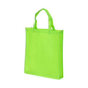 Shopping bag in non-woven material. Gussets in both the bottom and  sides along with reinforced handles make this one of our most popular carrying bags! Please note: Printing price only for 1-color printing. For multi-color printing - contact us for a quote.