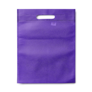 Molded bag in non-woven in a wide color selection. The bag has recessed handles and no gussets. Convenient place for a catalog and some information sheets, which makes it a popular trade fair bag. Please note: Printing price only for 1-color printing. For multi-color printing - contact us for a quote.