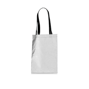 Combine safety, marketing, and sustainability in one with this reflective reusable bag. The surface makes the wearer visible when it is dark outside. If you choose to print on the bag, we believe that it will draw a little extra attention to this item and remind the user and the environment of the brand's value and care every time it is used. The handles are adapted to be carried both on the shoulder and in the hand. The bag also has an inner pocket where the bag can also be folded into and fit easily in the jacket pocket for optimal user-friendliness. Please note: Only transfer printing is possible on this bag.
