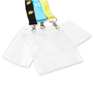 PVC fickor är populära tillbehör, då både visitkort, namnlappar och företagstillhörighet blir väl synligt när det fästs i logobandet.Finns som liten liggande / stående och stor stående.