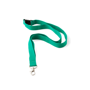 A great environmental choice! A lanyard in recycled polyester (R-PET). 900 mm long x 20 mm wide. It is also available in 10/15/25 mm widths. Optional PMS on the belt already from 100 pcs at no extra cost. Repeated 1-color print, snap hook and safety buckle included. Minimum order quantity: 100 pcs. If extra printing ink is desired, 0.80 SEK / color will be added. Standard cost 700 SEK / color (Recommended price)