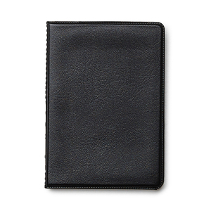 Durable plastic cover with space for an A7 notepad (included). Transparent plastic pocket on the inside. Popular with craftsmen, this notepad fits nicely in a chest pocket.