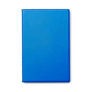 Notepad cover in durable plastic with space for A6 notes (included).Pocket on the inside. Popular with craftsmen, fits well in a leg pocket.