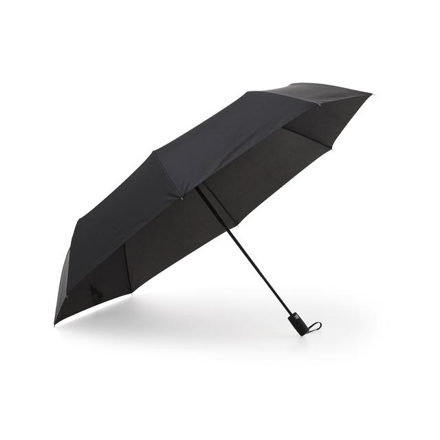 """Ett vändbart och extra vindtåligt kompaktparaply i """"golfparaplystorlek"""" med automatisk upp-och nedfällning. Ett stadigt 8-panelsparaply som get mycket skydd vid regn och tar liten plats när det är ihopfällt."""